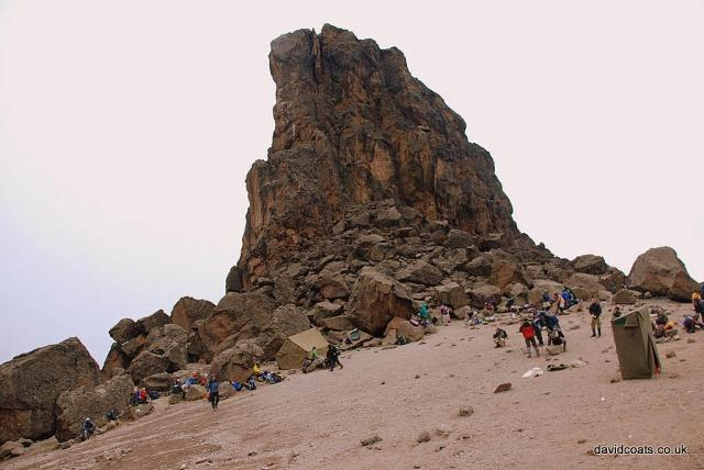 Lava-tower-on-Kilimanjaro
